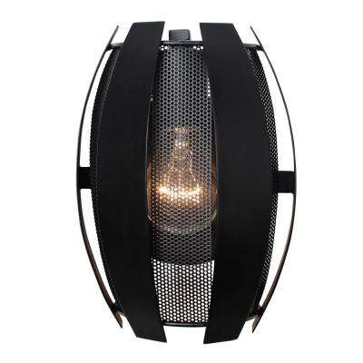 Sawyers Bar 1-Light Black Sconce