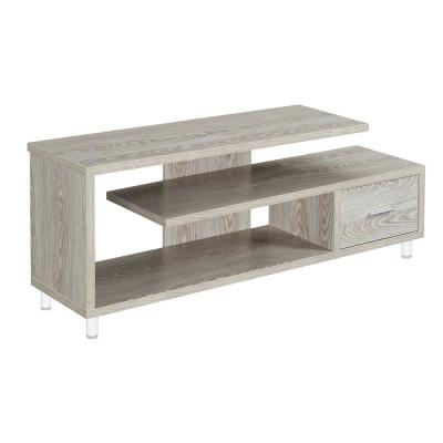 Seal II Ice 60 in. White TV Stand