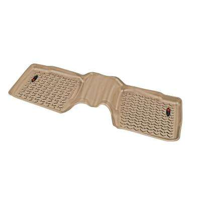 Floor Liner Rear 1-Piece Tan 2011-2014 Ford Explorer