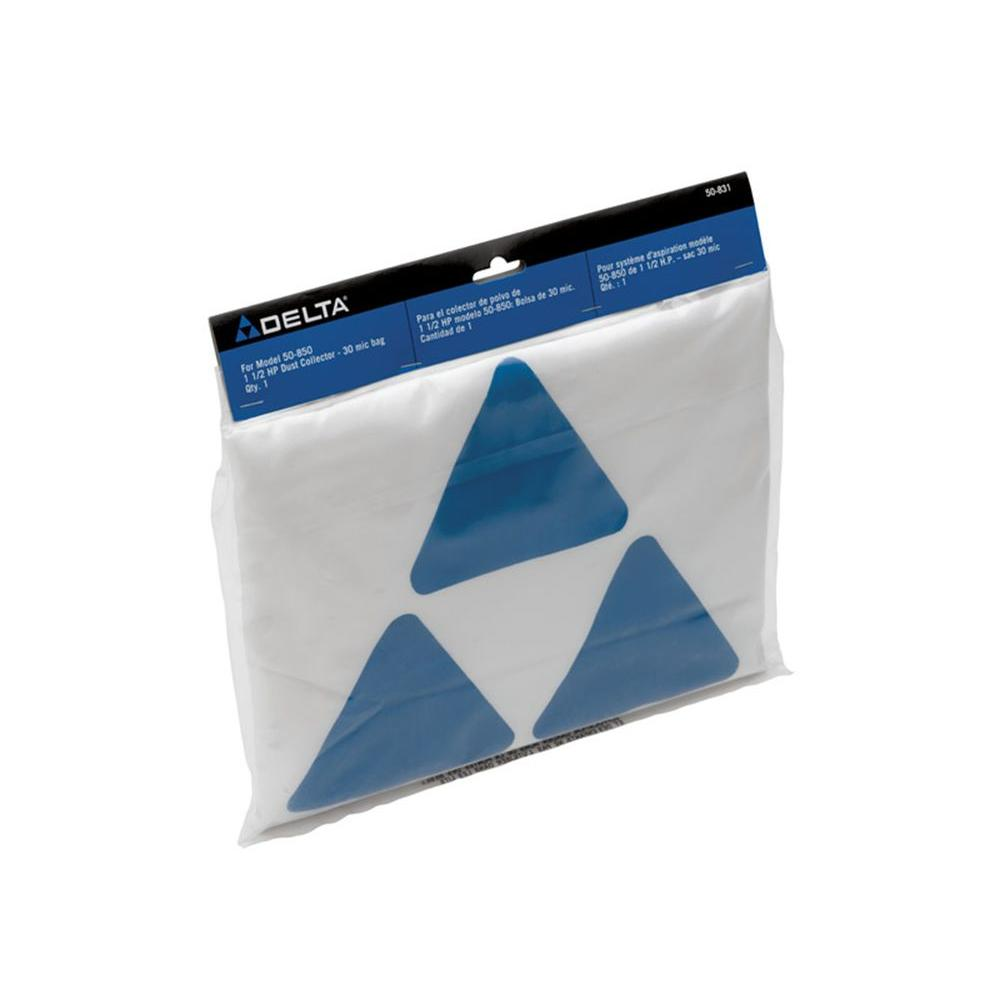Delta 30 Micron Dust Bag for 50-850 Dust Collector