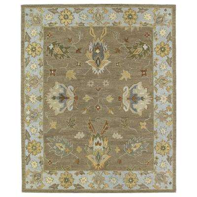 Brooklyn Delaney Mocha 8 ft. x 11 ft. Area Rug