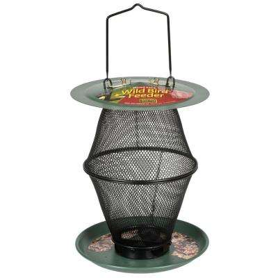 Mixed Seed Forest Green Lantern Wild Bird Feeder