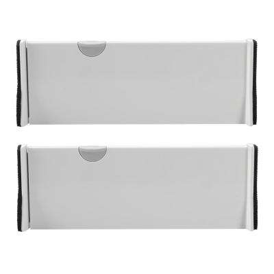 Good Grips 4 in. W x 1.7 in. H Expandable Drawer Dividers (2-Pack)