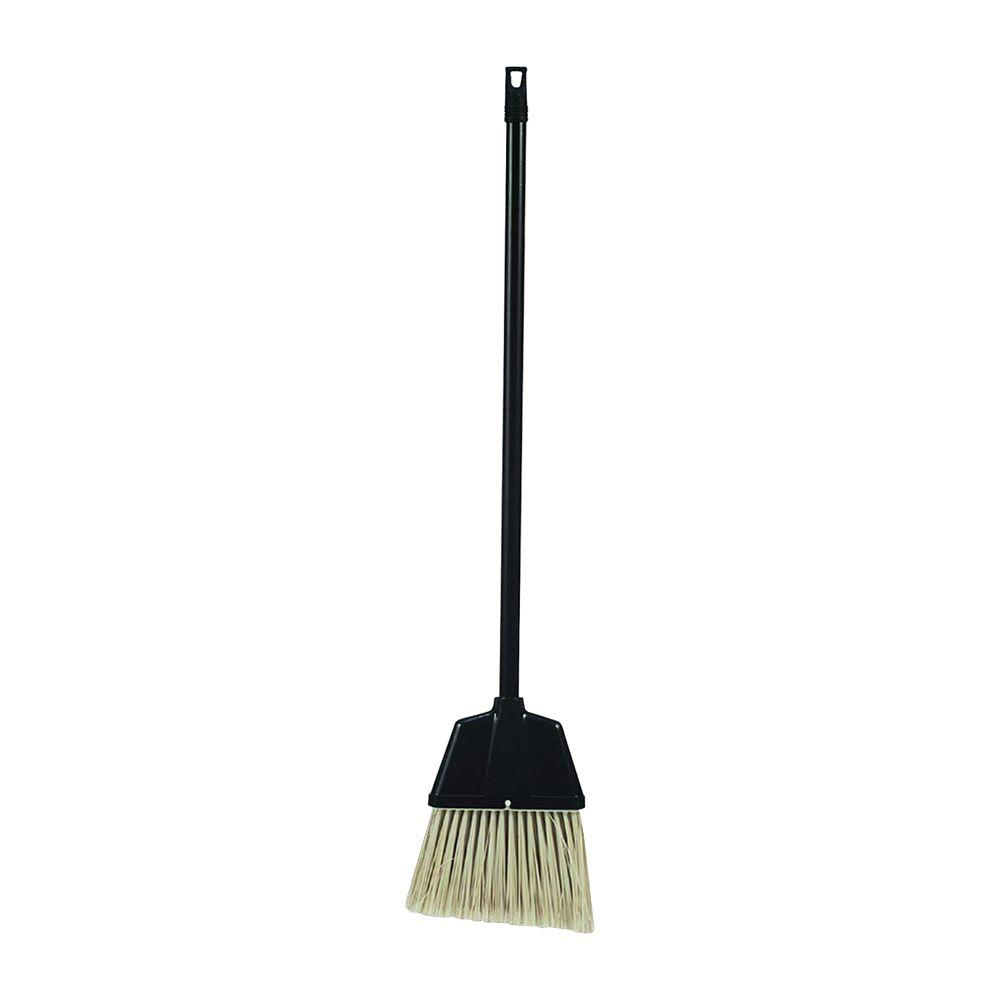 Genuine Joe Plastic Lobby Broom Gjo02408 The Home Depot
