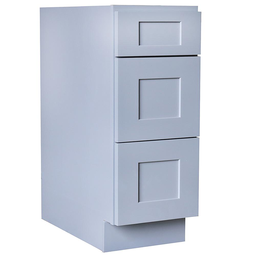 Plywell Ready To Assemble In Shaker Base Drawer With 1 Standard Drawer With 2 Deep