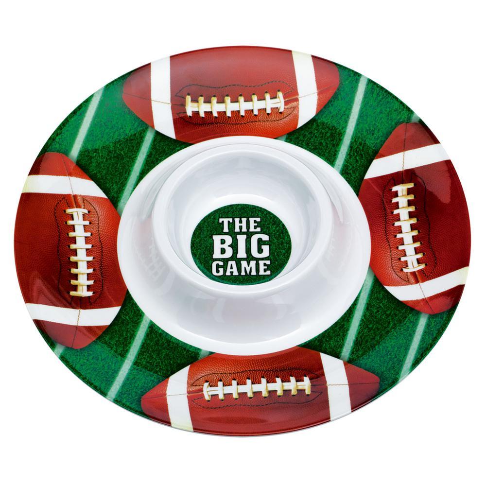 Football Dip Bowl 2 Pack