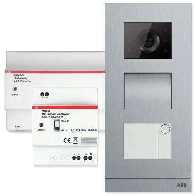 Welcome Door Entry System Single Family Kit Configurable with Smart Phones and Tablets