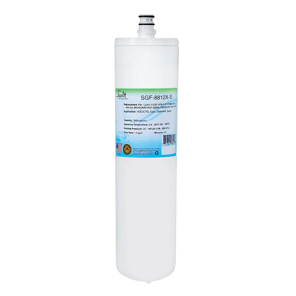 SGF-8812X-S Replacement Water Filter for Cuno CFS8812X-S