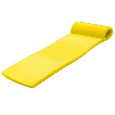 XX-Large Foam Mattress Yellow Pool Float
