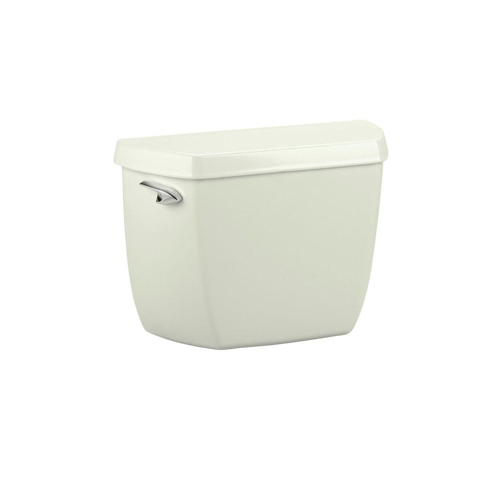 KOHLER Wellworth Classic 1.6 GPF Toilet Tank Only in Tea Green-DISCONTINUED