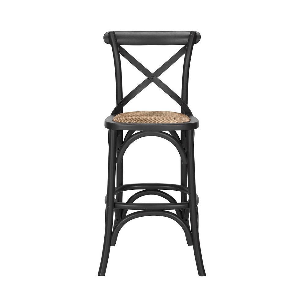 Stupendous Home Decorators Collection Mavery Black Wood Counter Stool Spiritservingveterans Wood Chair Design Ideas Spiritservingveteransorg