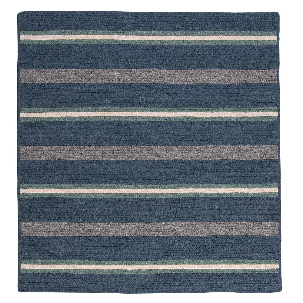 Primrose Denim 6 ft. x 6 ft. Square Area Rug