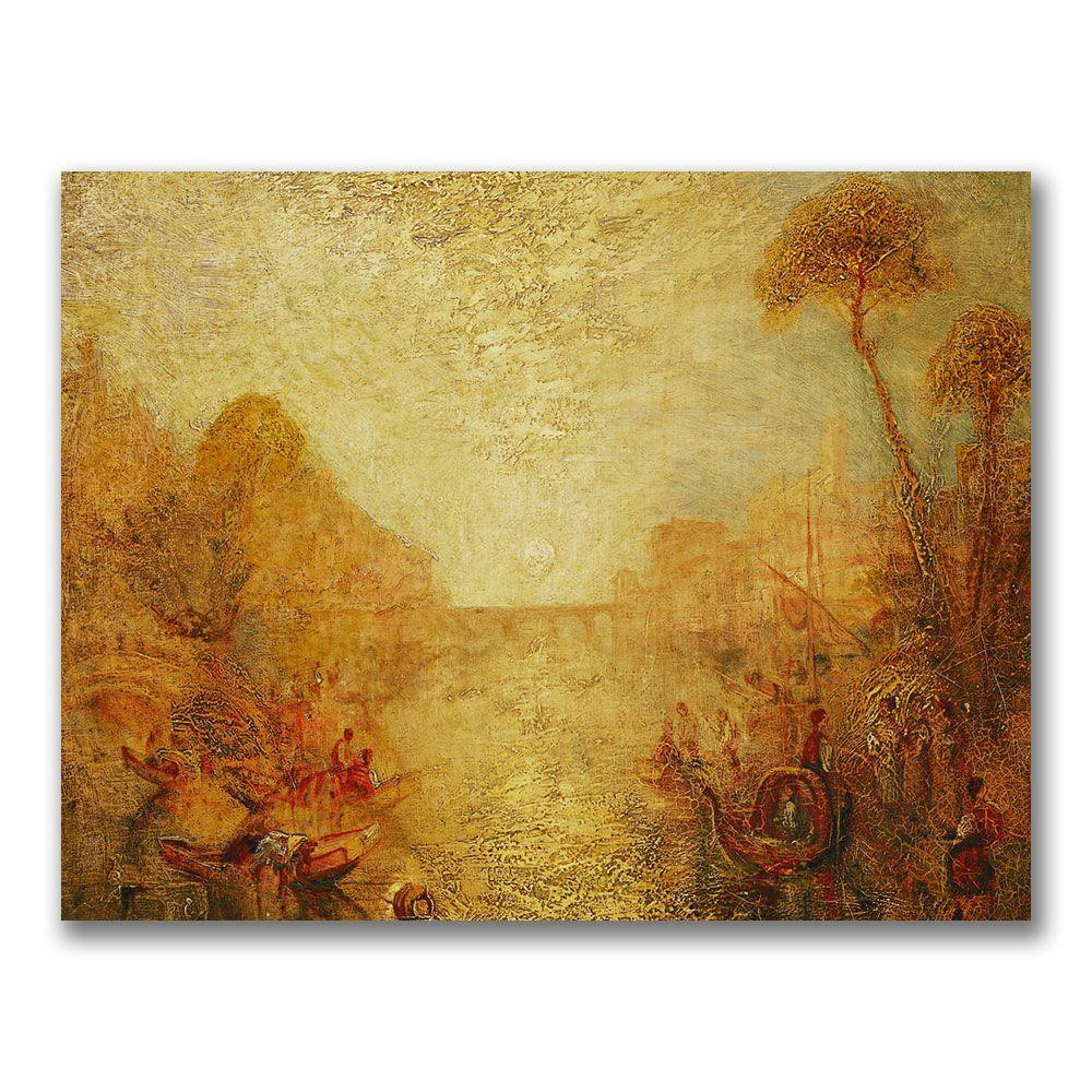 22 in. x 32 in. Landscape Canvas Art