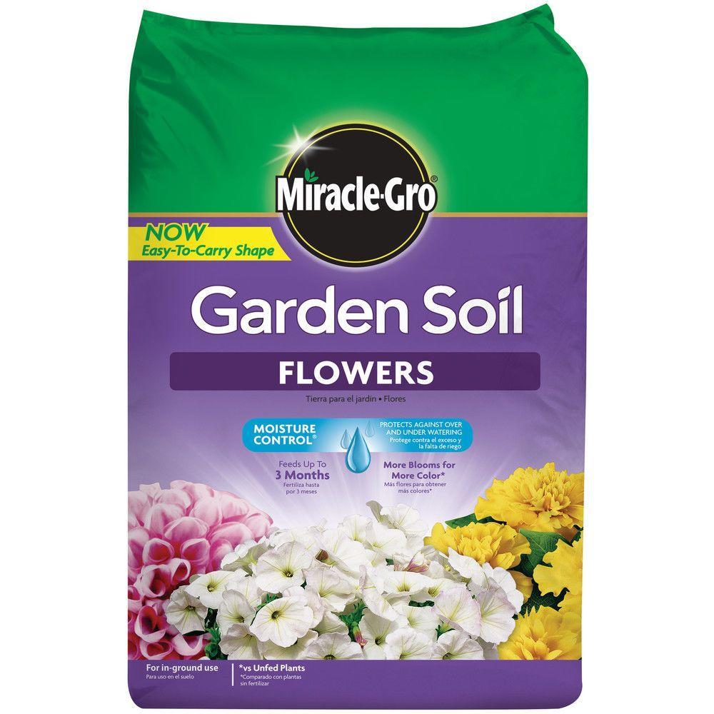 Miracle gro moisture control 1 5 cu ft garden soil for - Miracle gro all purpose garden soil ...
