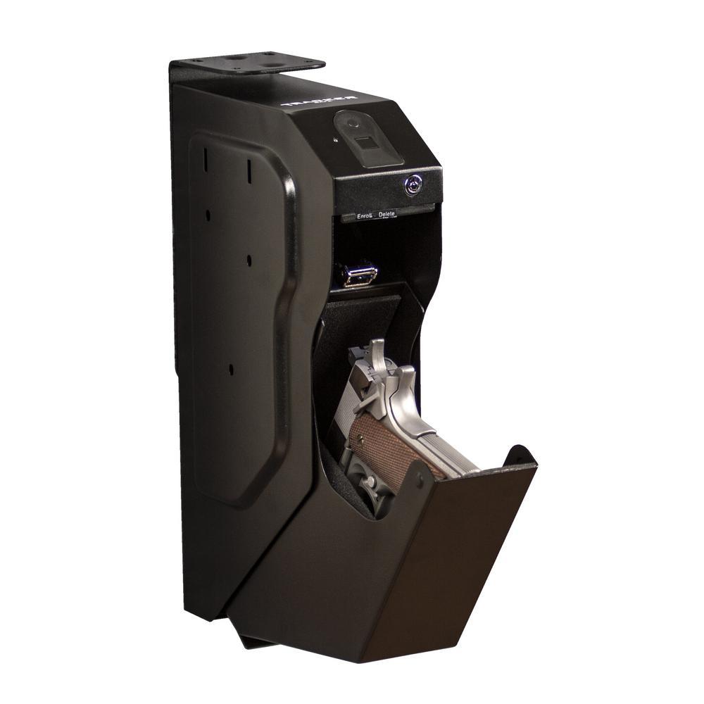 Biometric Fingerprint Lock Drop Down Pistol Safe