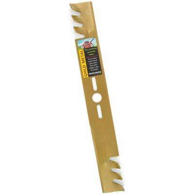 22 in. Gold Commercial Mulchin.g Blades Universal Fit for lawn mower