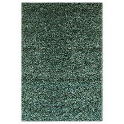 Colorville Shag Teal 8 ft. x 10 ft. Area Rug