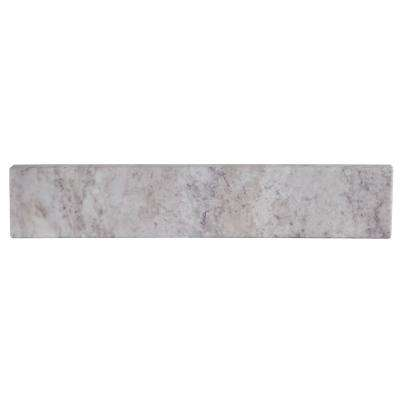 18 in. W Stone Effects Sidesplash in Winter Mist