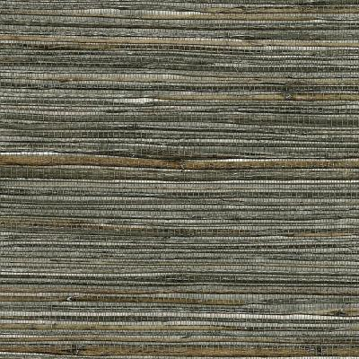 72 sq. ft. Fujian Silver Grass Cloth Wallpaper