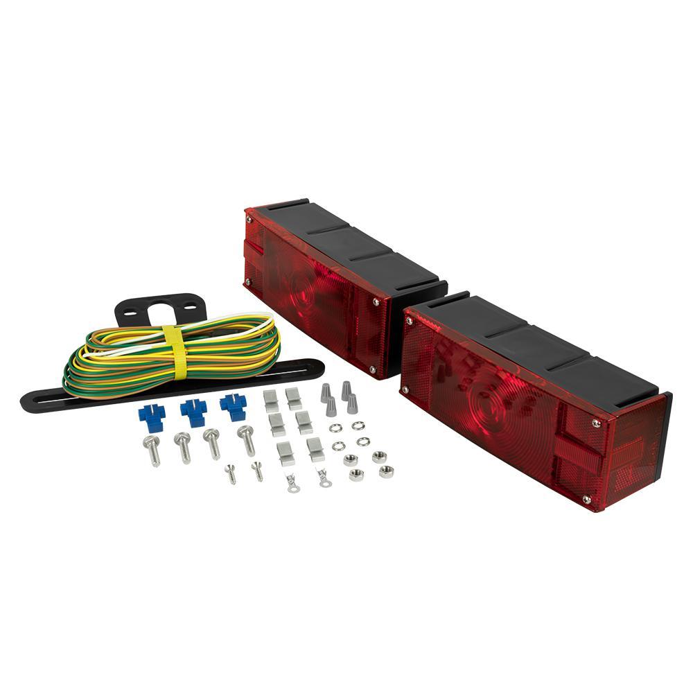 Low Profile Submersible Trailer Light Kit