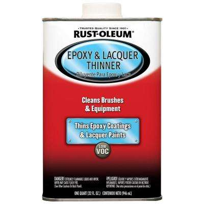 1-qt. Low VOC Epoxy and Lacquer Thinner (4-Pack)