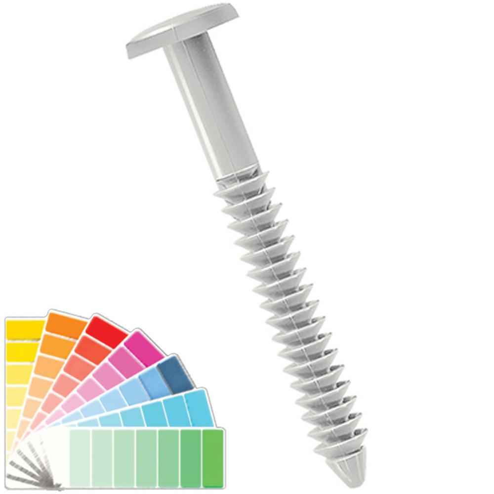 Builders Edge Painted Head Metal Screws In 030 Paintable