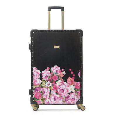 Ciao Bella 21 in. ABS Hard Case Pink Blushin Rolling Luggage Suitcase
