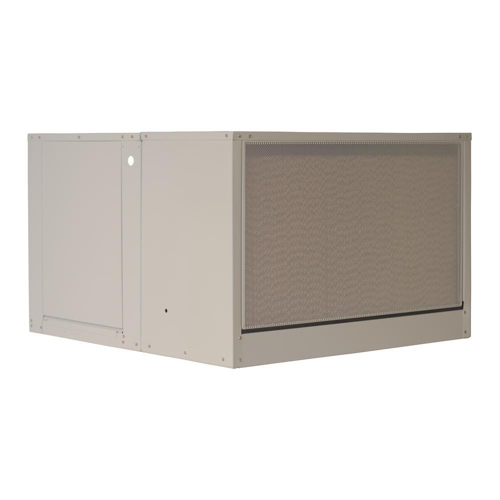 Mastercool 5000 cfm updraft 8 in media evaporative cooler - Mastercool exterior cooler cover ...