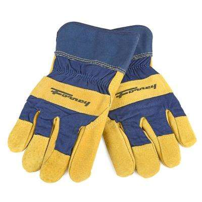 Lined Premium Pigskin Leather Palm Gloves (Men's M)