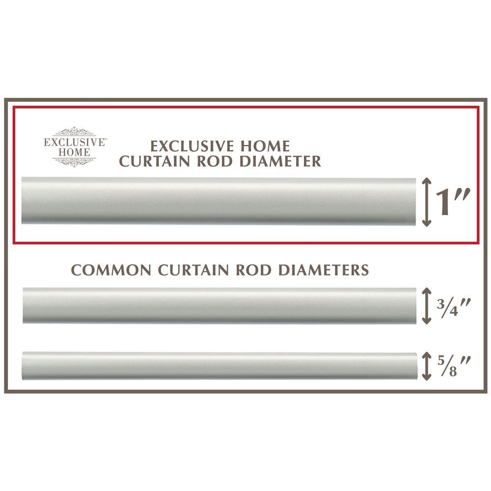 Curtains Ogee 1 Curtain Rod