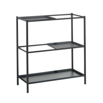 Boulevard Cafe 32 in. Black Plant Stand Shelf
