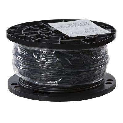 500 ft. 10 Black Stranded CU USE-2 Cable