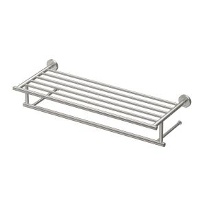 Gatco Latitude II 24 inch Towel Rack in Satin Nickel by Gatco