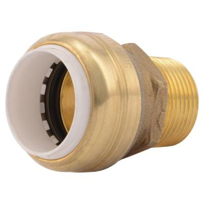 3/4 in. Push-to-Connect PVC IPS x 3/4 in. MIP Brass Adapter Fitting