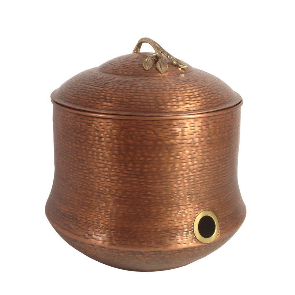 Cauldron Hammered Hose Pot