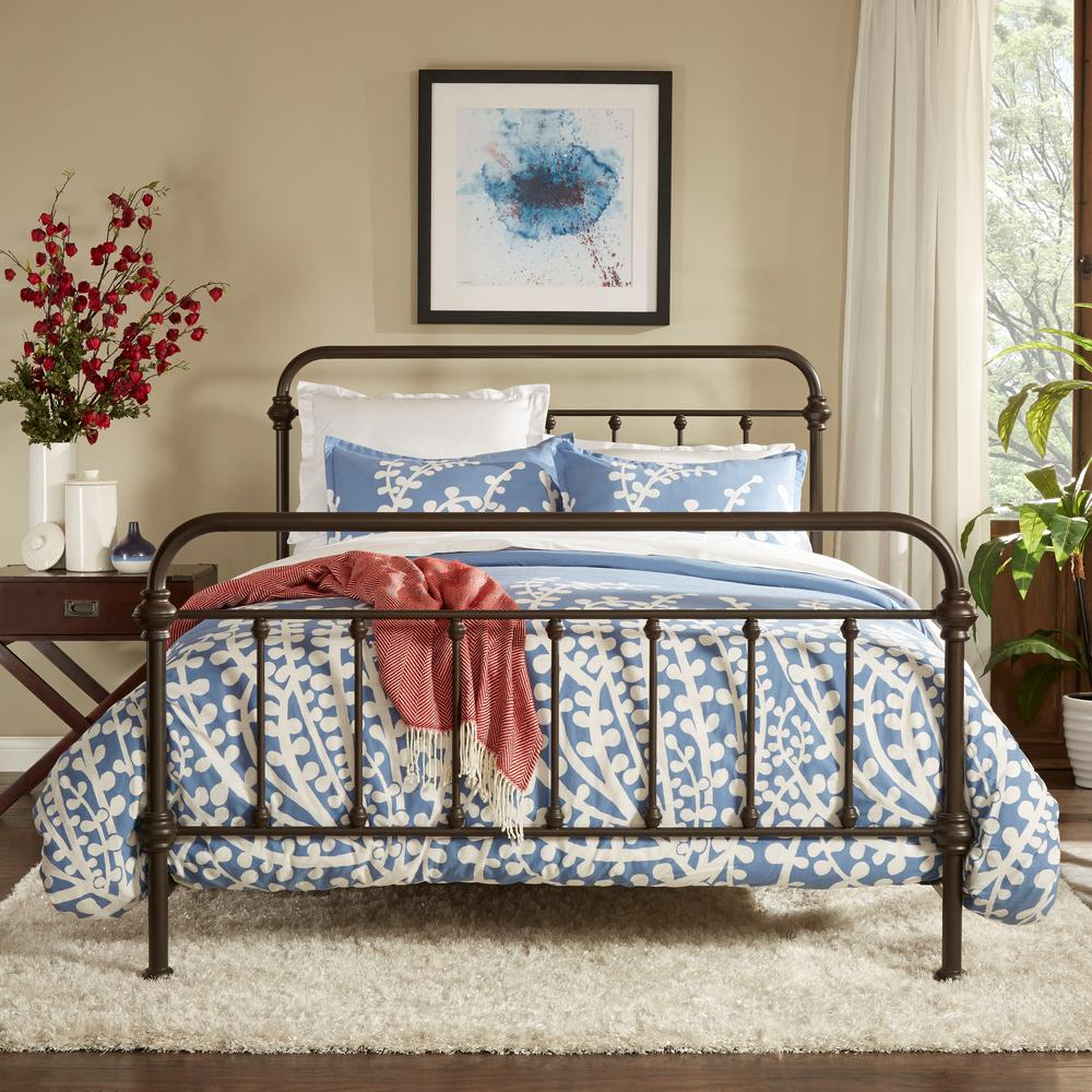 Classic Full Bed Frame Decor