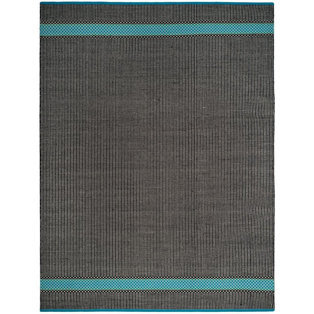 Safavieh Wyndham Turquoise Green 8 Ft X 10 Ft Area Rug: Safavieh Montauk Turquoise/Multi 8 Ft. X 10 Ft. Area Rug
