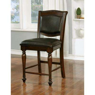 Alpena Traditional Brown Cherry Style Counter Height Chair