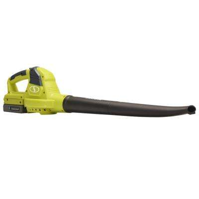 120 MPH 71 CFM 2-Amp 20-Volt Cordless Electric Handheld Leaf Blower and Sweeper