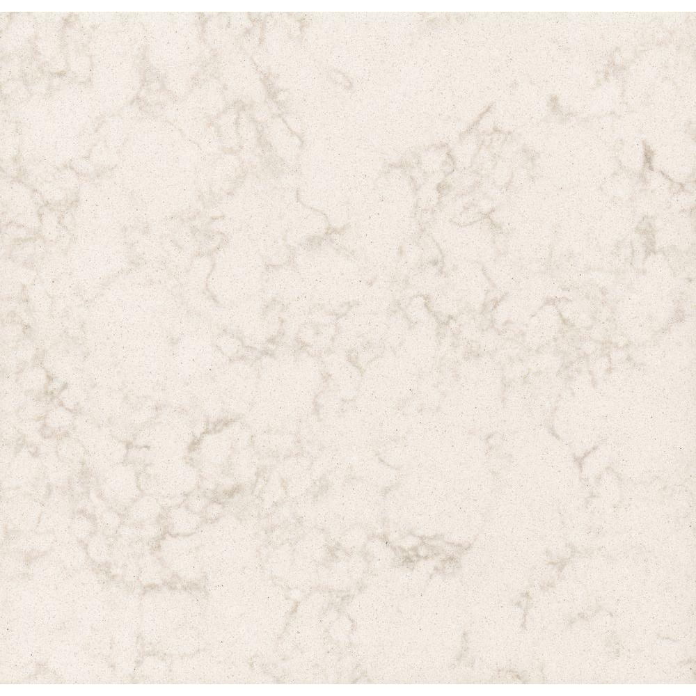 LG Hausys Viatera 3 in. x 3 in. Quartz Countertop Sample in Cortina