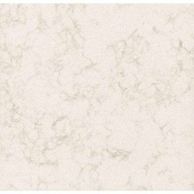 3 in. x 3 in. Quartz Countertop Sample in Cortina
