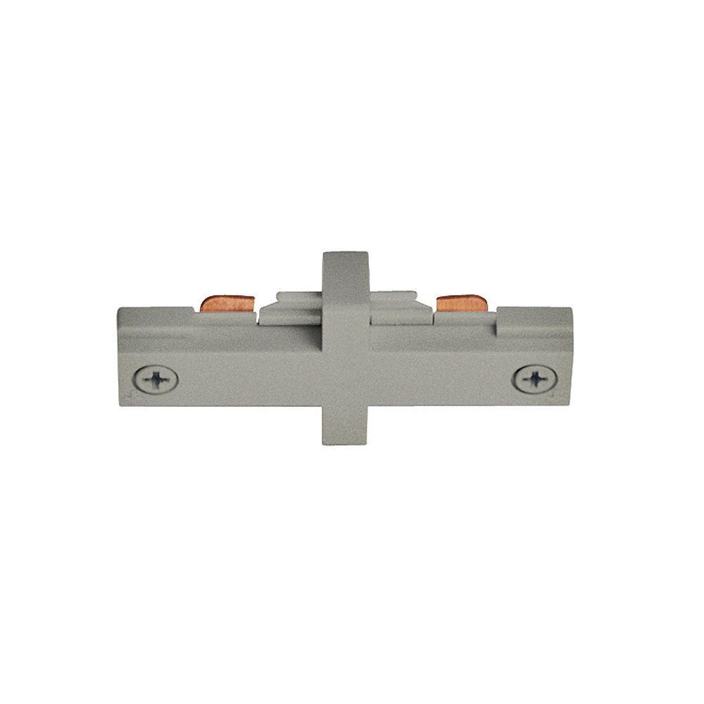 Juno Trac-Lites Nickel Miniature Straight Connector