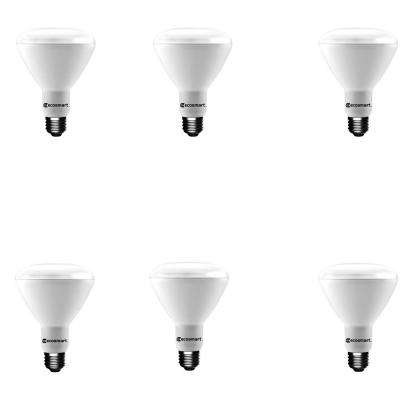 65-Watt Equivalent BR30 Dimmable Energy Star LED Light Bulb Soft White (6-Pack)