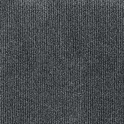 Premium Self-Stick Inspirations Smoke Ribbed Texture 18 in. x 18 in. Carpet Tile (16 Tiles/36 sq. ft. /case)