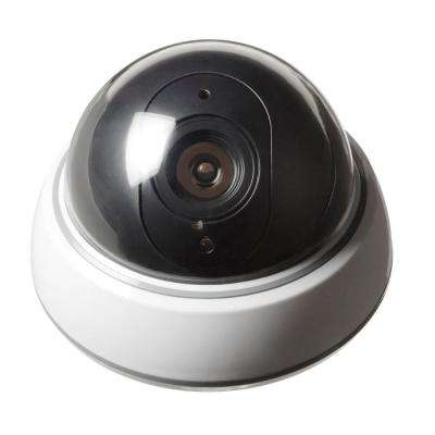Simplified Home Security Simulated Surveillance Camera - Dome