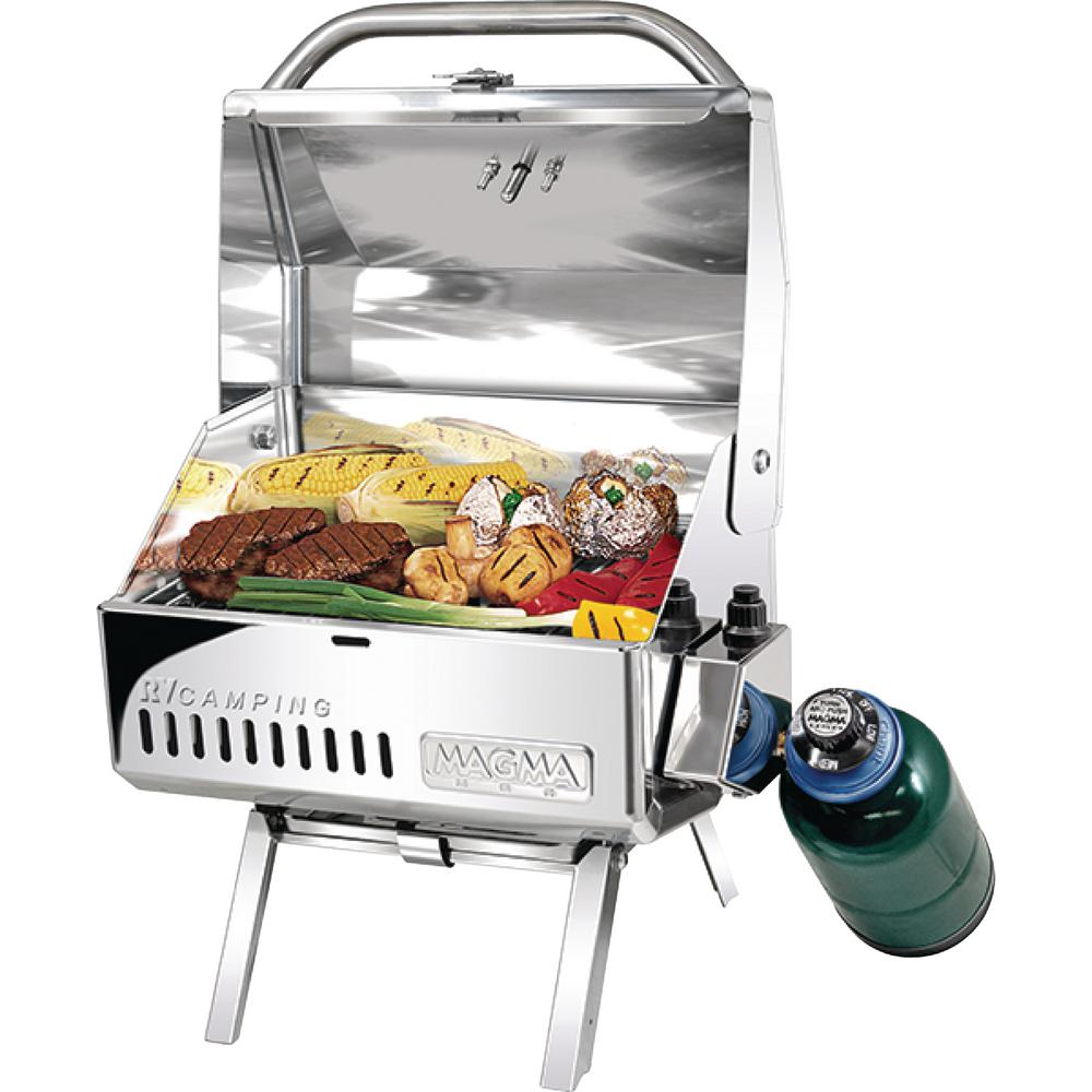 Mesquite Traveler Series RV Camping Portable Propane Gas Barbecue Grill in
