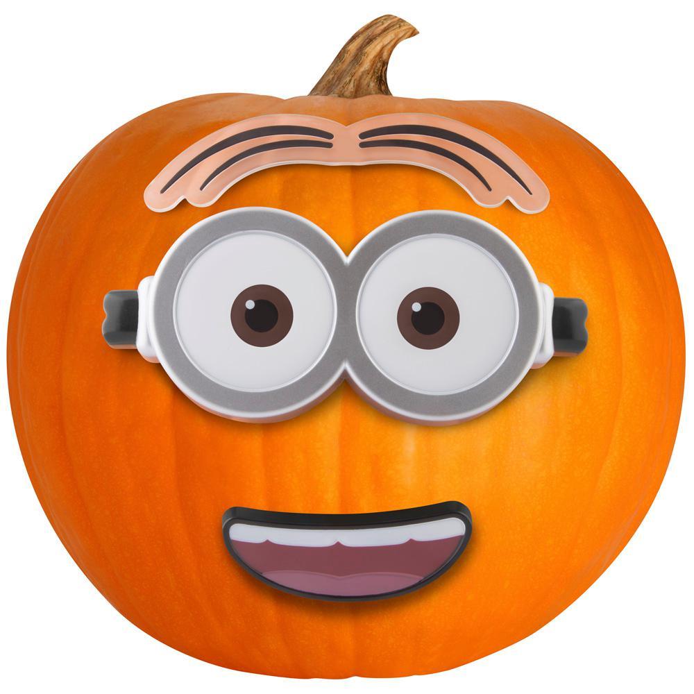 13 in. Pumpkin Push Ins Kit Minion Dave Universal