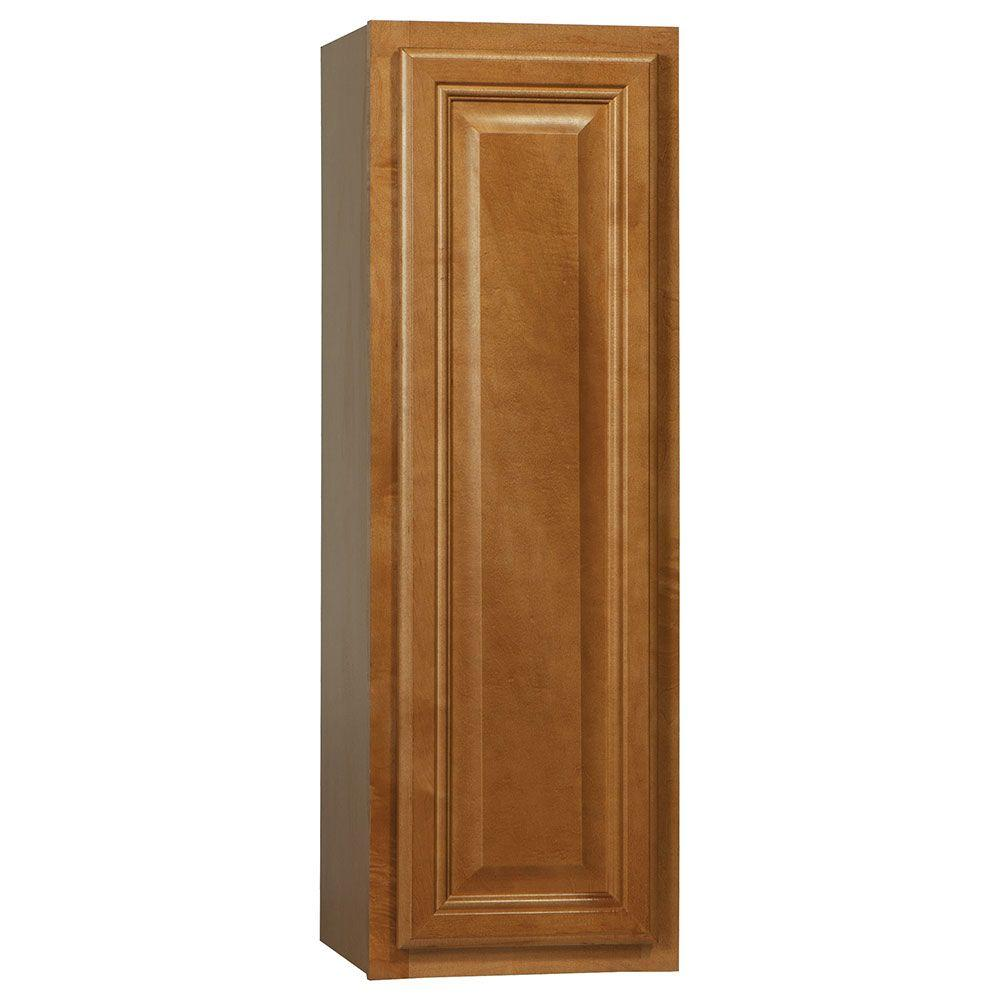 Cambria Assembled 12x36x12 in. Wall Kitchen Cabinet in Harvest