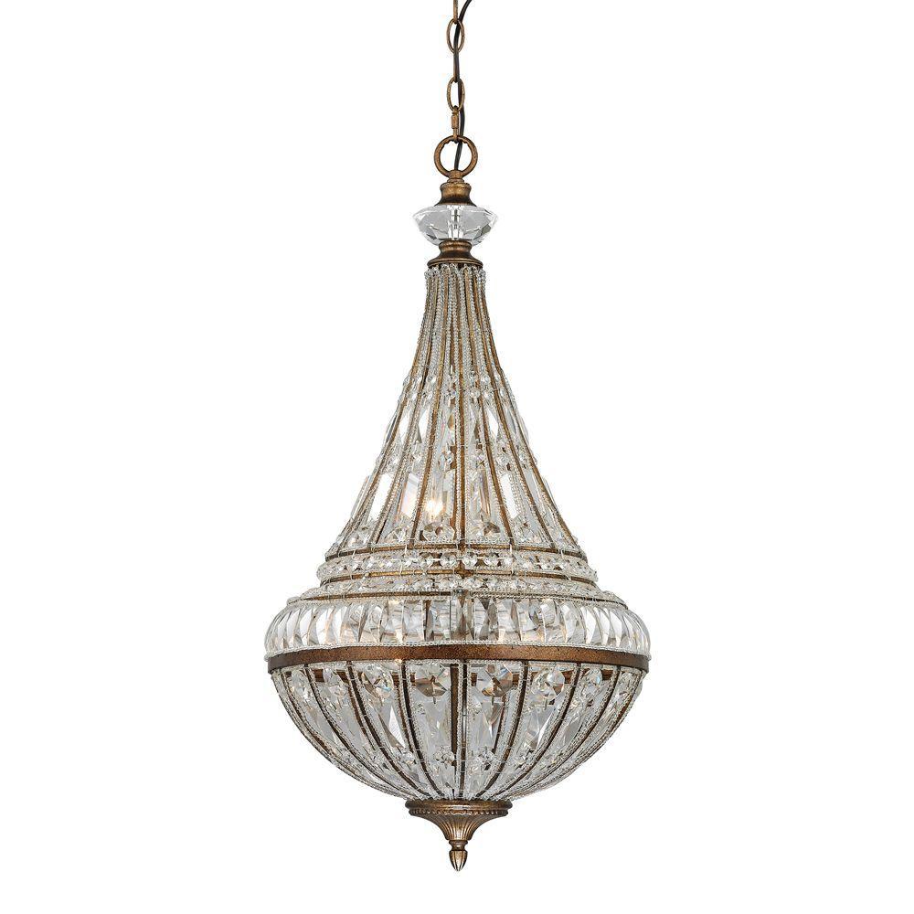 Windermere Collection 6-Light Mocha Pendant