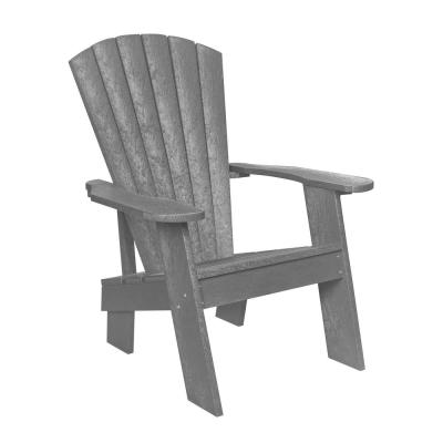 Capterra Casual Driftwood Recycled Plastic Adirondack Chair